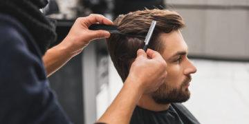 Service de coiffure pour homme